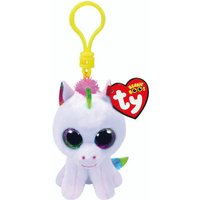 Claire's Ty Beanie Boo Pixy The Unicorn Keyring Clip - Beanie Gifts
