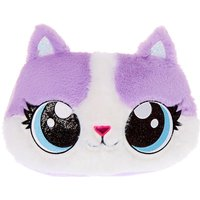 Claire's Carly The Cat Soft Pillow - Purple - Pillow Gifts