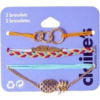 Claire's 3 Pack Summer Friendship Bracelets - Friendship Gifts
