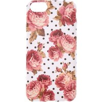 Claire's Floral & Polka Dot Phone Case - Fits Iphone 5/5S - Polka Dot Gifts