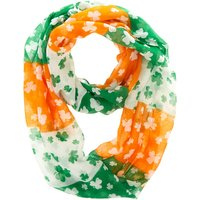 Claire's St. Patrick's Day Shamrock Infinity Scarf - St Patricks Day Gifts