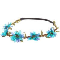 Claire's Blue & Turquoise Ombre Flower Crown - Flower Gifts