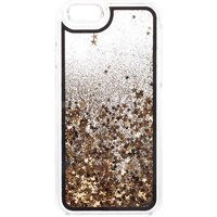 Claire's Gold Star Glitter Liquid Fill Protective Phone Case - Fits Iphone 6/6S - Phone Gifts
