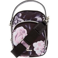 Claire's Floral Messenger Crossbody Bag - Black - Bag Gifts