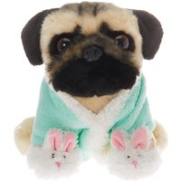 Claire's Doug The Pug™ Slumber Party Plush Toy – Mint - Mint Gifts