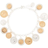 Claire's Mixed Metal Coin Charm Bracelet - Charm Bracelet Gifts