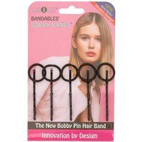 Claire's Localoc Bandables Bobby Bands - Black, 5 Pack - Bands Gifts