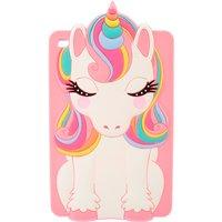 Claire's Rainbow Unicorn Ipad Mini Silicone Phone Case - Ipad Gifts