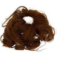 Claire's Curly Faux Hair Tie - Brown - Hair Gifts