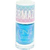 Claire's Mermazing Shimmer Nail Polish - Mermaid Blue - Nail Gifts