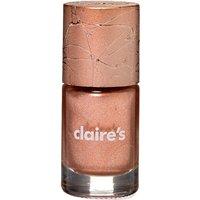 Claire's Metallic Nail Polish - Rose Gold - Nail Gifts