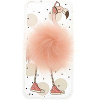 Claire's Pink Pom Flamingo Phone Case - Phone Case Gifts