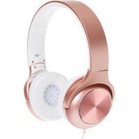 Claire's Metallic Headphones - Rose Gold - Headphones Gifts