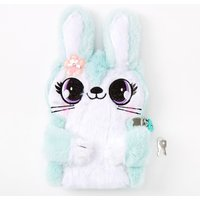 Claire's Jade The Bunny Soft Lock Diary - Mint - Diary Gifts
