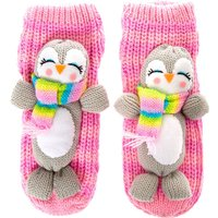 Claire's Peppie The Penguin Knitted Socks - Knitted Gifts