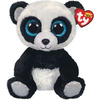 Claire's Ty Beanie Boo Medium Bamboo The Panda Soft Toy - Toys Gifts