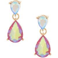 Claire's Iridescent Fuchsia Teardrop Drop Earrings - Fuchsia Gifts