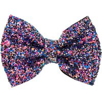 Claire's Space Glitter Hair Bow Barrette - Glitter Gifts
