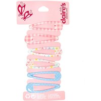 Claire's Club Spring Snap Hair Clips - 6 Pack - Picnic Gifts
