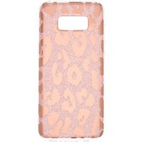 Claire's Glitter Leopard Print Phone Case - Fits Samsung Galaxy S8 - Leopard Print Gifts