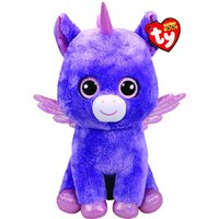Claire's Ty Beanie Boo Large Athena The Pegasus Soft Toy - Soft Toy Gifts