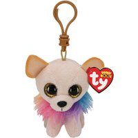 Claire's Ty Beanie Boo Chewey The Chihuahua Keyring Clip - Keyring Gifts