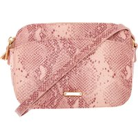 Claire's Snake Skin Crossbody Bag - Pink - Snake Gifts