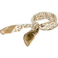Claire's Silky Leopard Bandana Headwrap - Beige - Beige Gifts