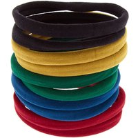 Claire's Solid Hair Ties - Blue, 10 Pack - Ties Gifts