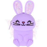 Claire's Bella The Bunny Jelly Coin Purse - Lilac Purple - Lilac Gifts