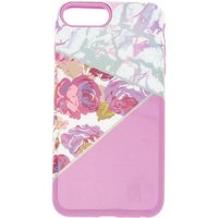 Claire's Floral And Marble Protective Phone Case - Lilac - Lilac Gifts