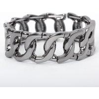 Claire's Hematite Chain Stretch Bracelet - Jewellery Gifts