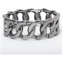 Claire's Hematite Chain Stretch Bracelet - Jewellery Gifts