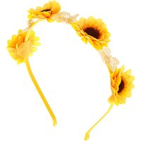 Claire's Summer Sunflower Headband - Yellow - Summer Gifts