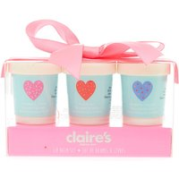 Claire's Kids 3 Pack Sprinkles Lip Balm Set - Lip Balm Gifts