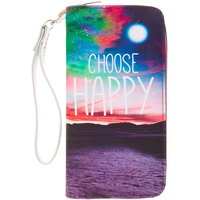 Claire's Large Choose Happy Wristlet Wallet - Wallet Gifts