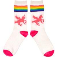 Claire's Rainbow Unicorn Crew Socks - Socks Gifts
