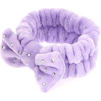 Claire's Makeup Bow Headwrap - Purple - Makeup Gifts