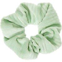 Claire's Ribbed Velvet Hair Scrunchie - Mint Bracelet - Mint Gifts