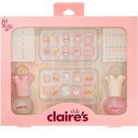 Claire's Kids Pink Glitter Ballerina Nail Art Set - Nail Art Gifts
