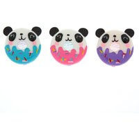 Claire's Sweetimal Pandonut Flavored Lipgloss Set - 3 Pack - Lipgloss Gifts