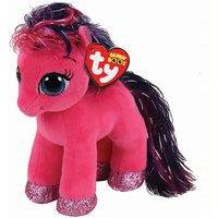 Claire's Ty Beanie Boo Small Ruby The Pink Pony Soft Toy - Ruby Gifts