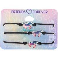 Claire's Mood Unicorn Adjustable Friendship Bracelets - 2 Pack - Friendship Gifts