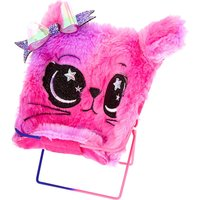 Claire's Space Kitty Papasan Chair Phone Holder - Pink - Phone Gifts