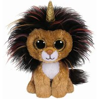 Claire's Ty Beanie Boo Small Ramsey The Unicorn Lion Soft Toy - Beanie Gifts