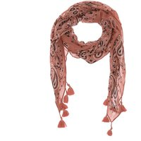 Claire's Square Bandana Tassle Scarf - Pink - Scarf Gifts