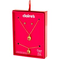 Claire's August Birthstone Jewelry Gift Set - Peridot, 3 Pack - Birthstone Gifts
