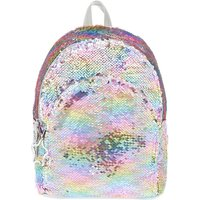 Claire's Reversible Sequin Rainbow Pastel Midi Backpack - Backpack Gifts