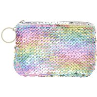 Claire's Reversible Sequin Rainbow Pastel Coin Purse - Purse Gifts