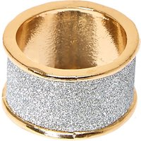 Claire's Silver Glitter Tape Band Ring - Band Gifts